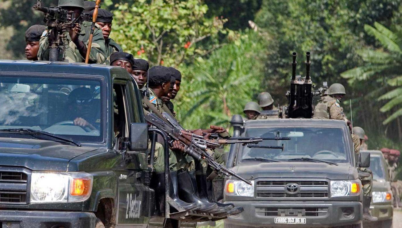 Żołnierze Demokratycznej Republiki Konga (fot. REUTERS/Siegfried Modola)