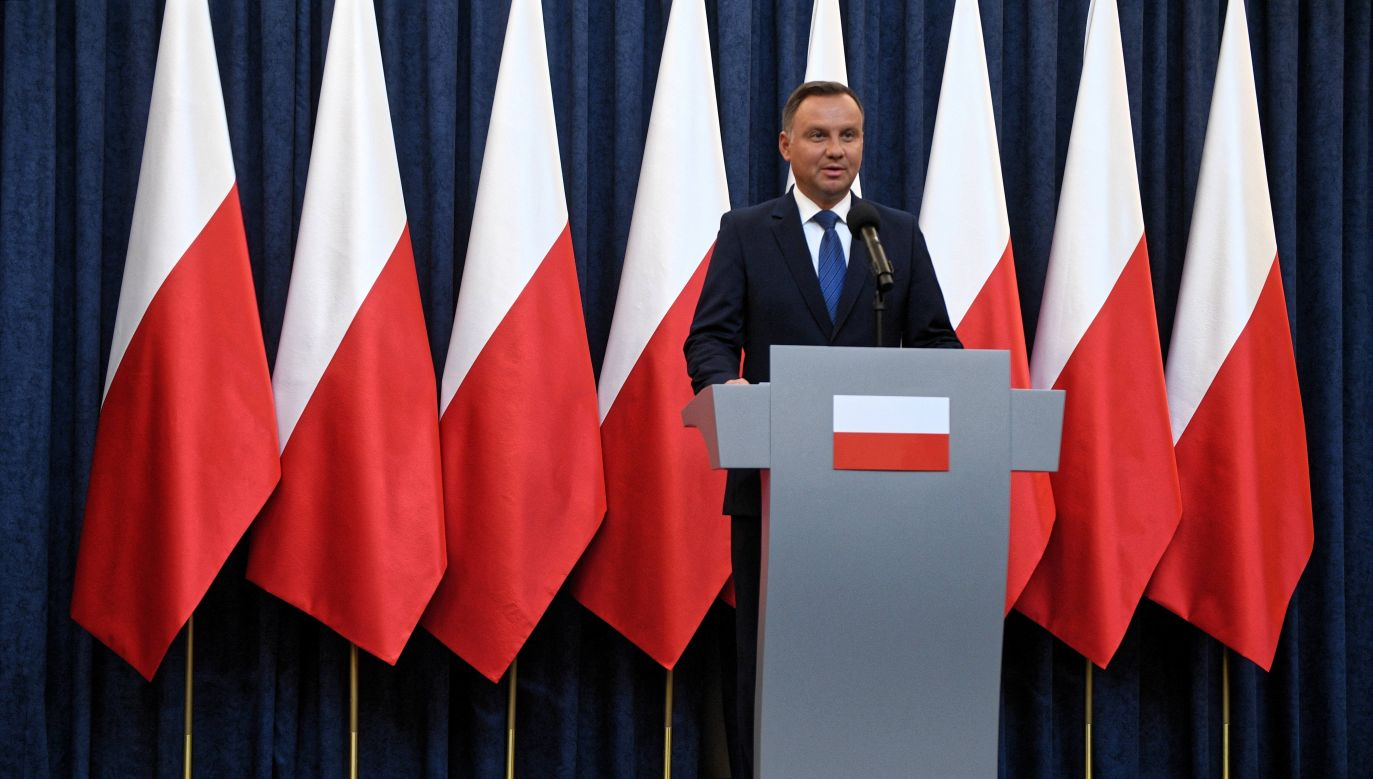 President Duda made the announcement on Thursday. Photo: PAP/Jacek Turczyk