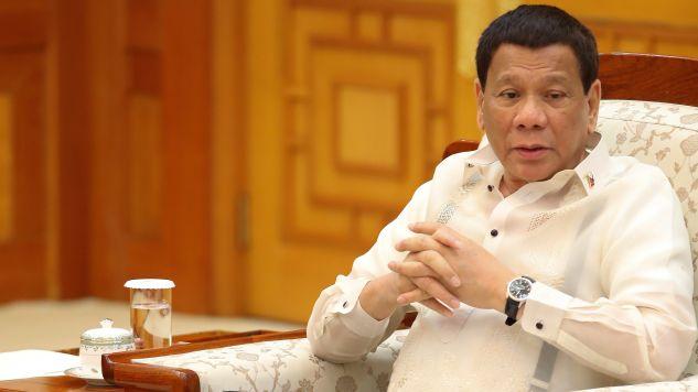 Prezydent Filipin Rodrigo Duterte (fot. arch. PAP/YONHAP)