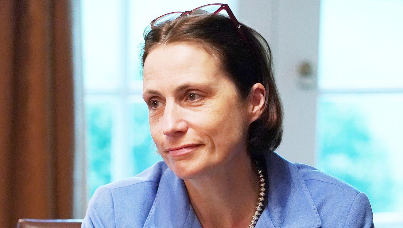 Fiona Hill jest ekspertką do spraw Rosji (fot. Chip Somodevilla/Getty Images)