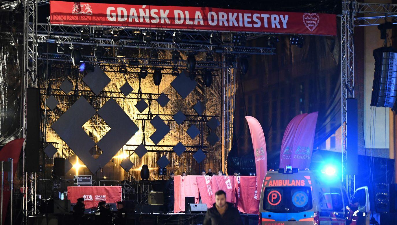 Do ataku na Pawła Adamowicza doszło podczas finału WOŚP w Gdańsku (fot.arch.PAP/ Adam Warżawa)