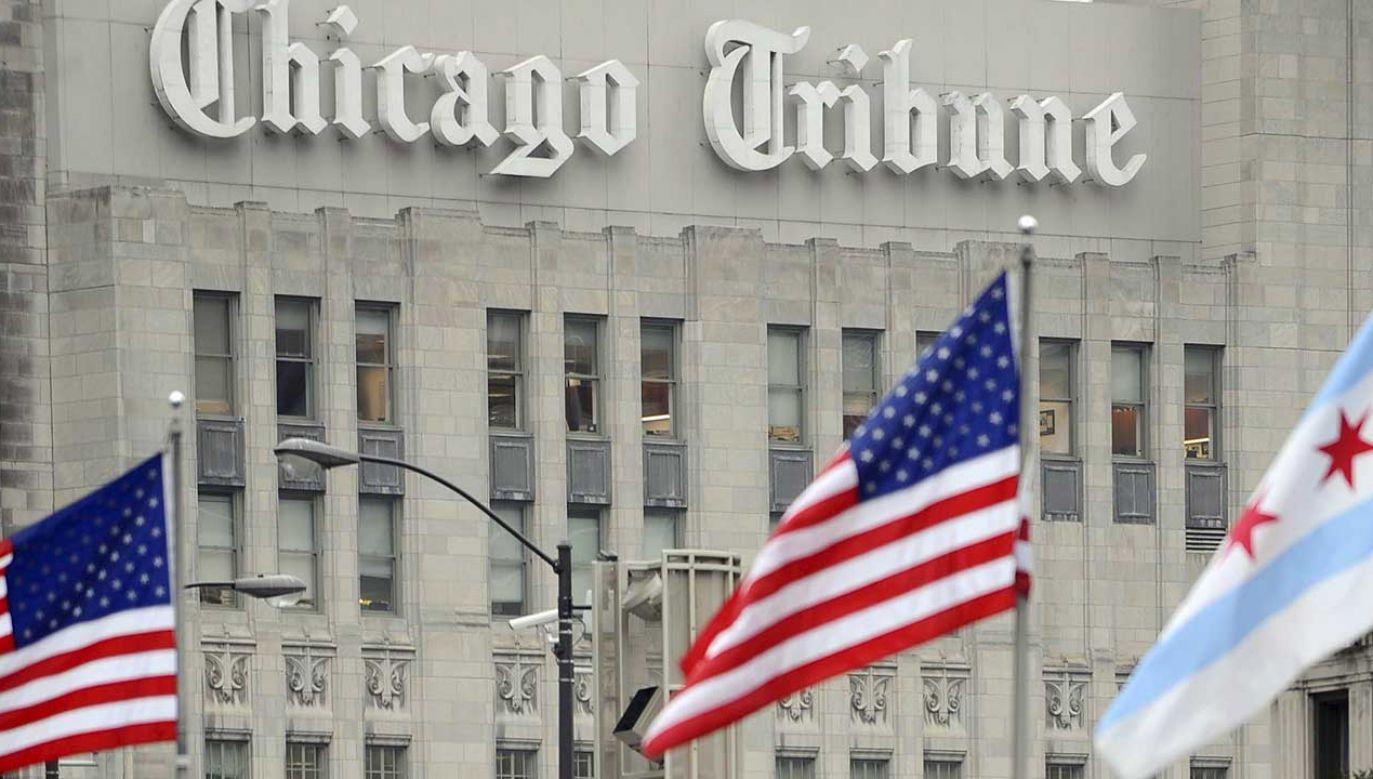 """Konsul odniósł się do artykułu w dzienniku """"Chicago Tribune"""", w którym Polskę nazwano """"problemem Europy"""" (fot. arch. PAP/EPA/TANNEN MAURY)"""