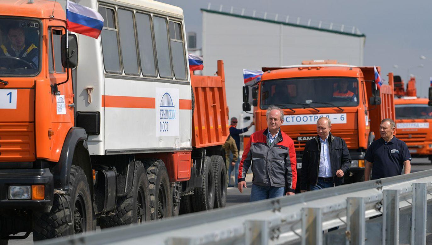 """Swoją listę zamierzają przekazać organom ścigania, aby się nimi """"zajęły""""(fot.  Sputnik/Alexei Druzhinin/Kremlin via REUTERS)"""