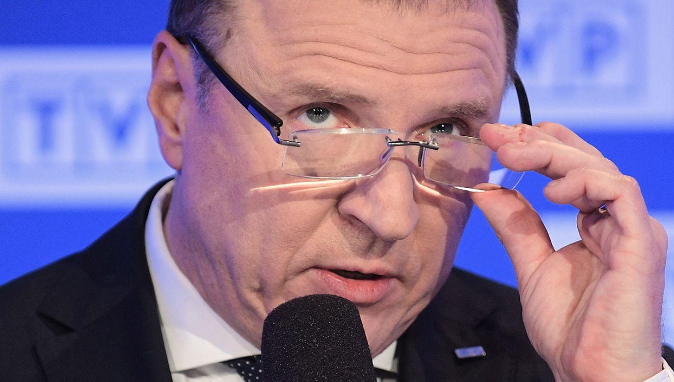 Prezes TVP Jacek Kurski (fot. arch.PAP/Marcin Obara)