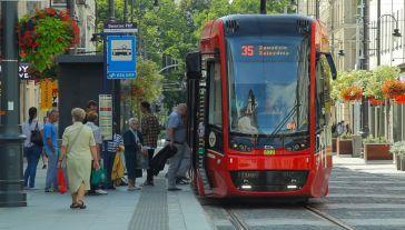 Nowoczesny tramwaj Twist (fot. www.pesa.pl)