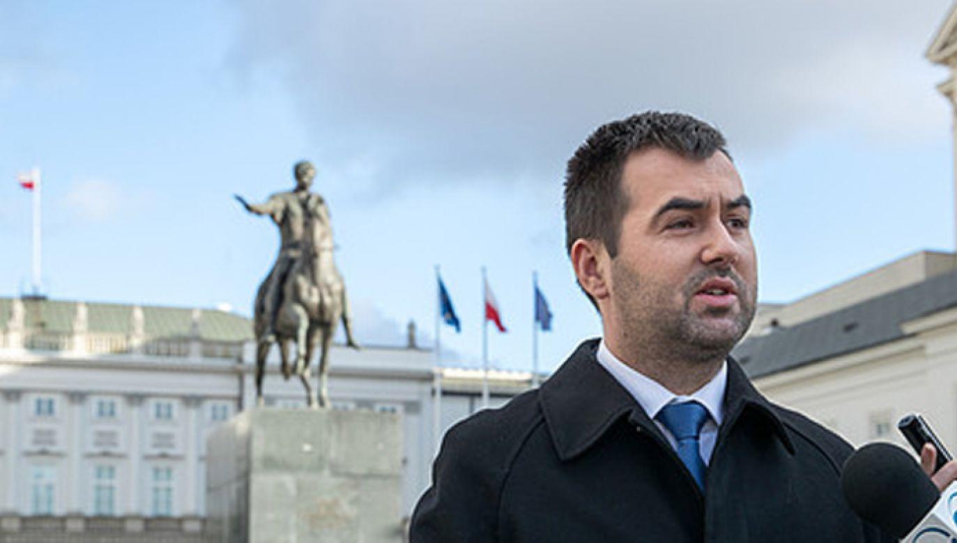 Rzecznik prezydenta Błażej Spychalski (fot. KPRP/Igor Smirnow)