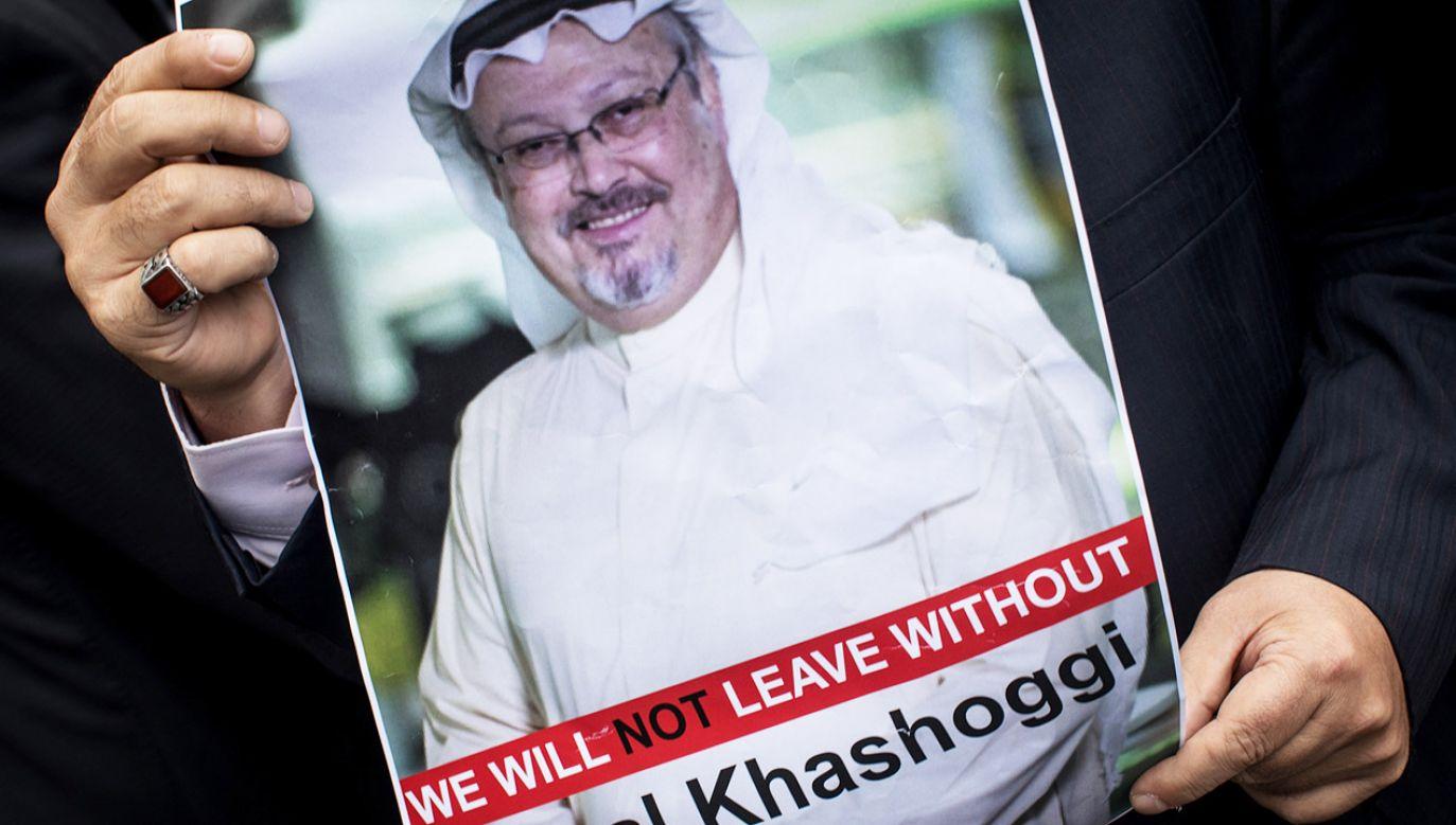 Z początku Arabia Saudyjska twierdziła, że Chaszodżdżi opuścił konsulat żywy (fot. Chris McGrath/Getty Images)