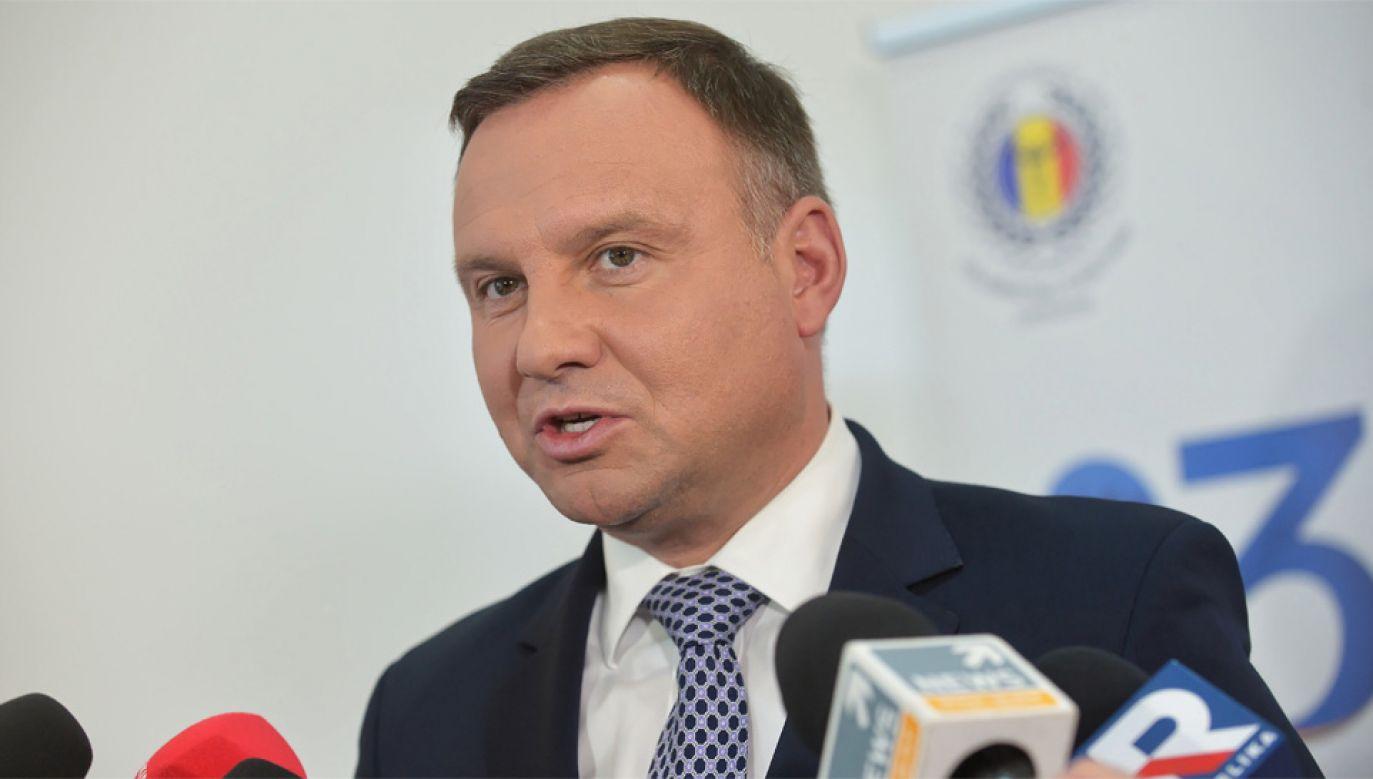 Prezydent Andrzej Duda zostanie przyjęty w Białym Domu (fot. PAP/Marcin Obara)