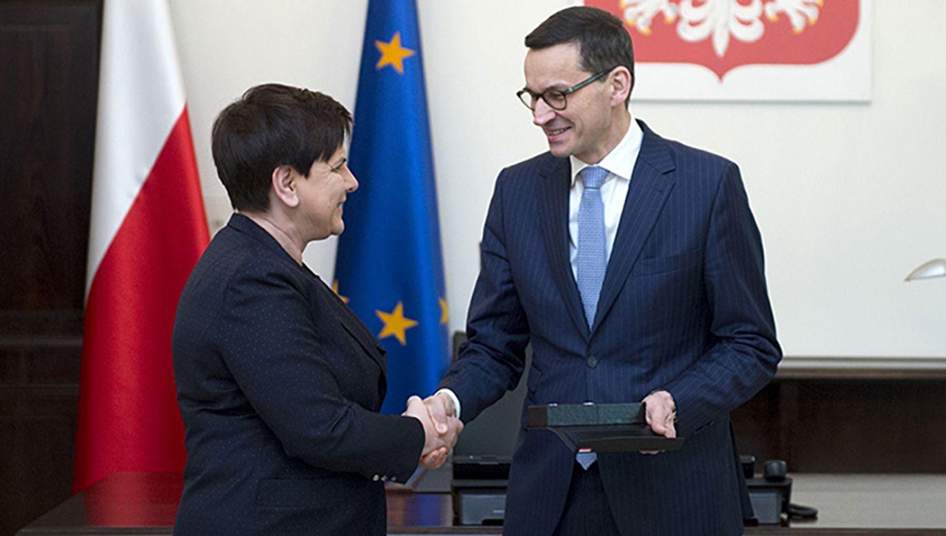 Potrzebna była świeża krew, zanim pojawi się zmęczenie pani premier – mówi prof. Andrzej Zybertowicz (fot. Flickr/P.Tracz/KPRM)