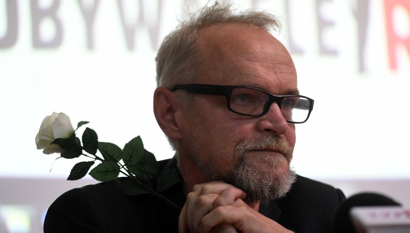 Paweł Kasprzyk jest nieformalnym liderem Obywateli RP (fot. arch. PAP/ Bartłomiej Zborowski)