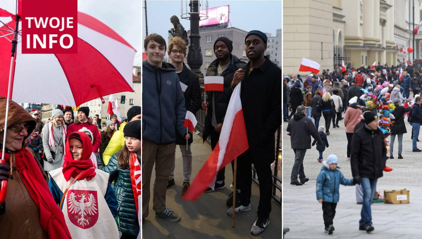 Zachęcamy do dzielenia się zdjęciami i wideo ze świętowania 11 listopada (fot. arch. PAP/tvp.info/PAP)