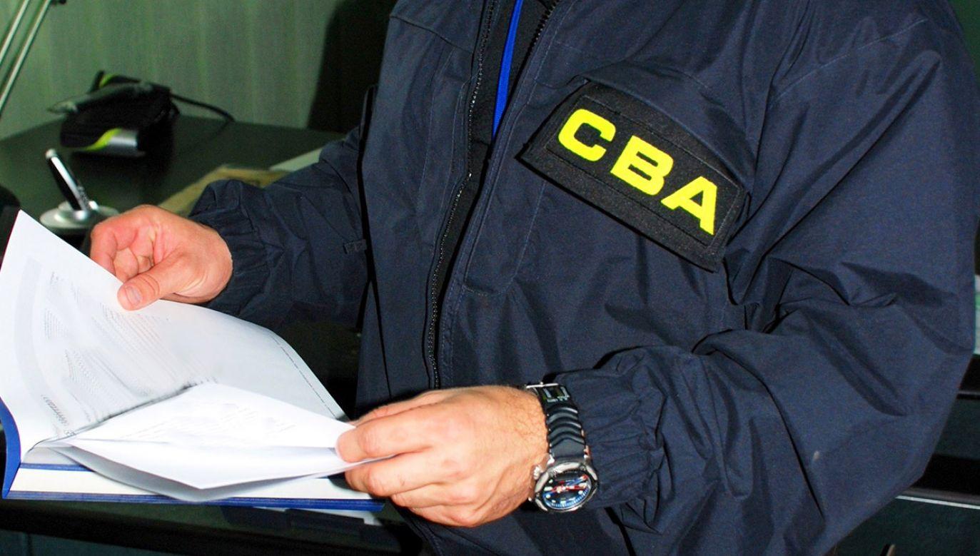 Jedna z zatrzymanych osób trafiła w ręce CBA powtórnie (fot. CBA)