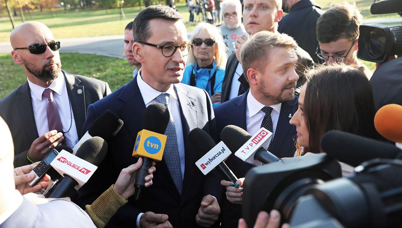 W sobotę możliwe jest wydanie przez sąd postanowienia m.in. w sprawie wniosku w trybie wyborczym, jaki PiS złożył w piątek przeciwko PSL (fot. PAP/Tomasz Gzell)