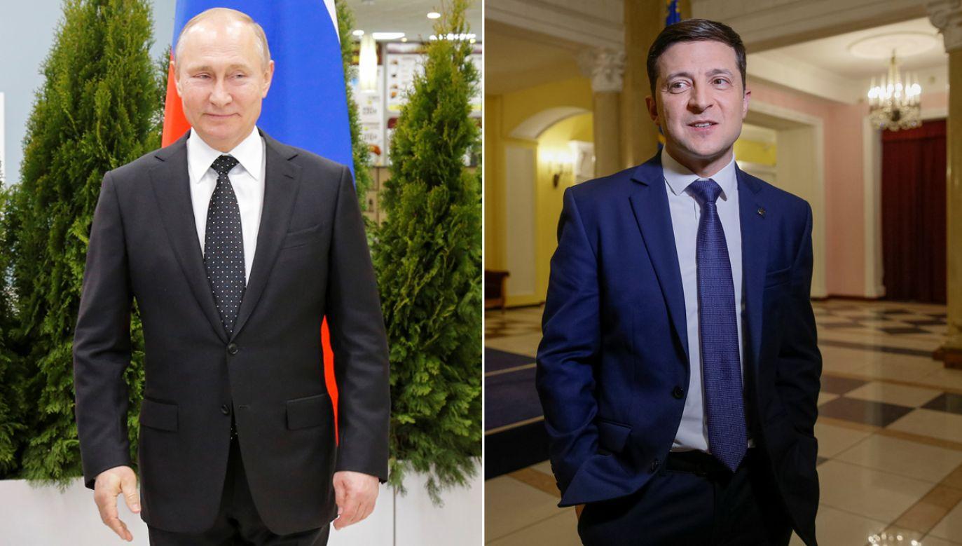 Kreml liczy, że będzie mógł manipulować nowym ukraińskim prezydentem (fot. REUTERS/Alexander Zemlianichenko/Valentyn Ogirenko)