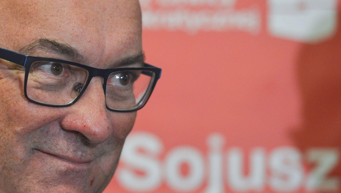 O decyzji poinformował szef SLD Włodzimierz Czarzasty (fot. Artur Widak/NurPhoto via Getty Images)