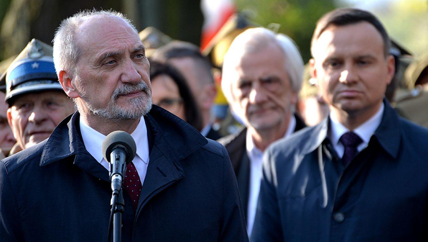 PiS nie chce zaostrzać napięcia pomiędzy prezydentem a ministrem obrony – powiedziałą rzeczniczka partii  (fot. Flickr/MON)