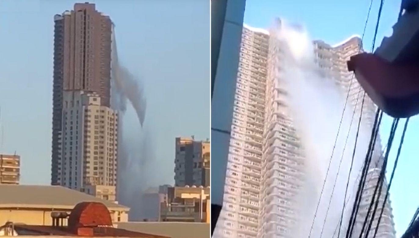 Wstrząsy uszkodziły budynki, infrastrukturę i spowodowały zakłócenia w transporcie lotniczym, drogowym i kolejowym (fot. YT/   Manila Bulletin Online)