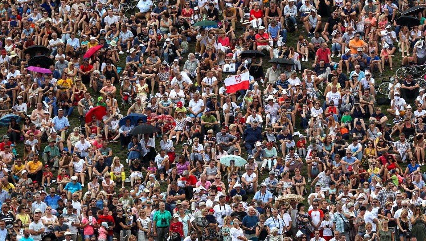 W Warszawie odbyła się Wielka Defilada Niepodległości z okazji Święta Wojska Polskiego  (fot. TT/Grzegorz Jakubowski/KPRP)