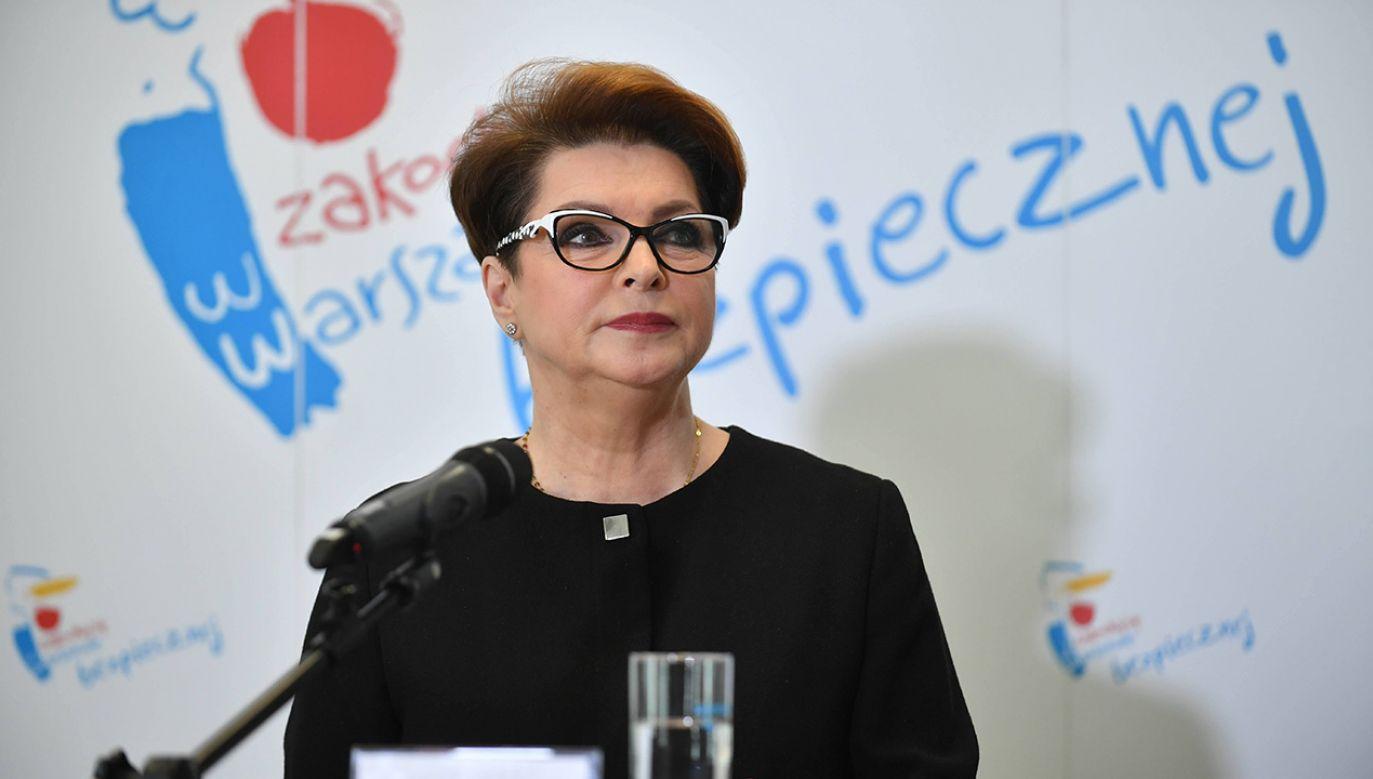 Ewa Gawor usłyszy zarzuty w sprawie, którą prokuratura bada od czterech lat (fot. arch. PAP/Bartłomiej Zborowski)