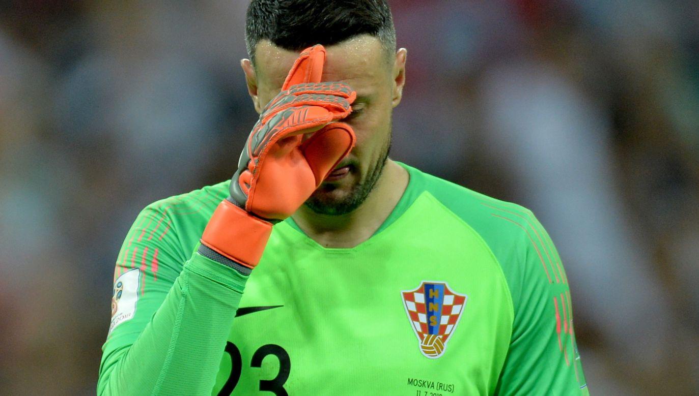 Danijel Subasić bramkarzem Monaco jest od 2012 roku (fot. PAP/EPA)