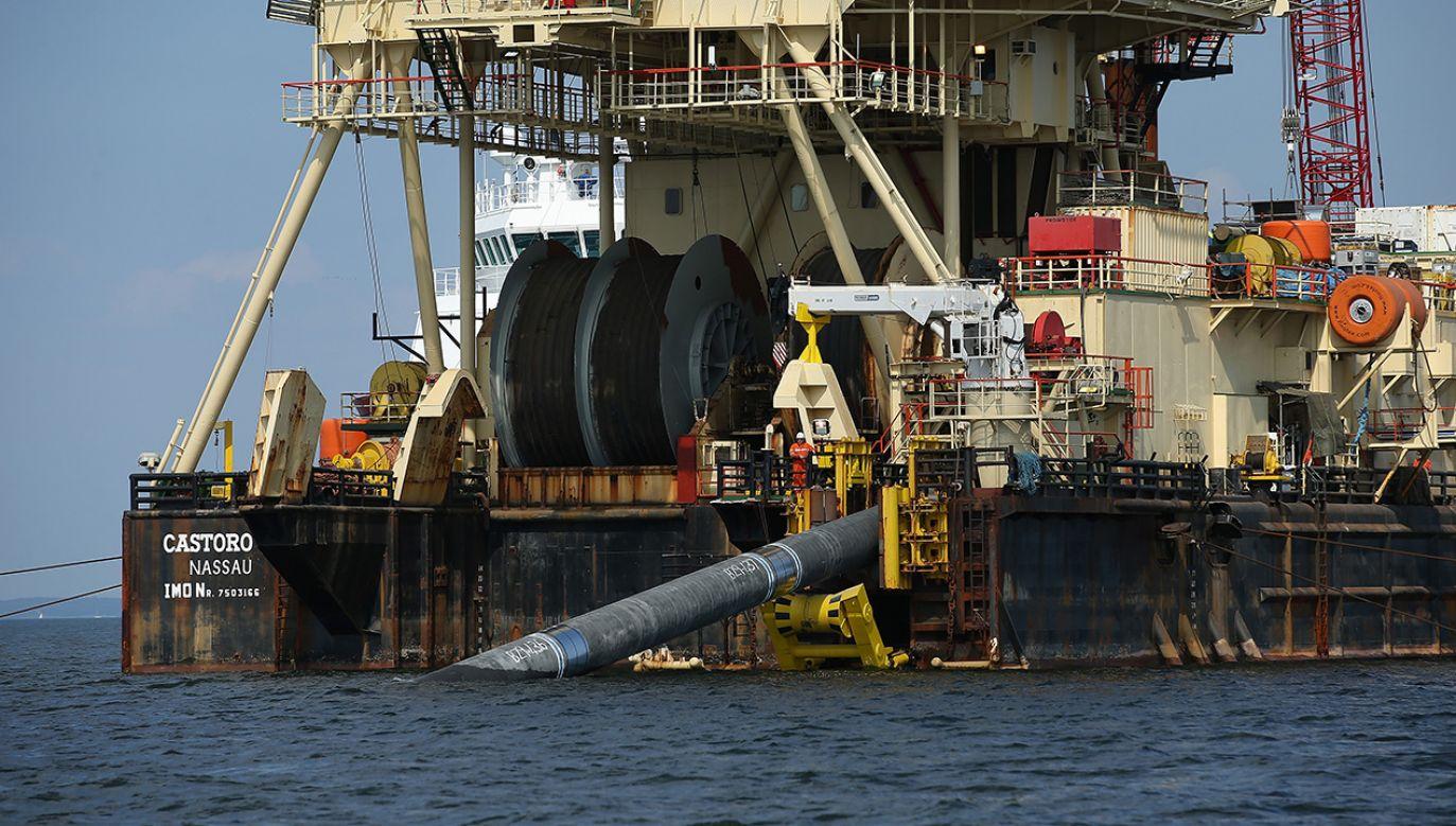 Kongresmeni opowiedzieli się za nałożeniem przez USA sankcji w związku z Nord Stream 2 (fot. Sean Gallup/Getty Images)