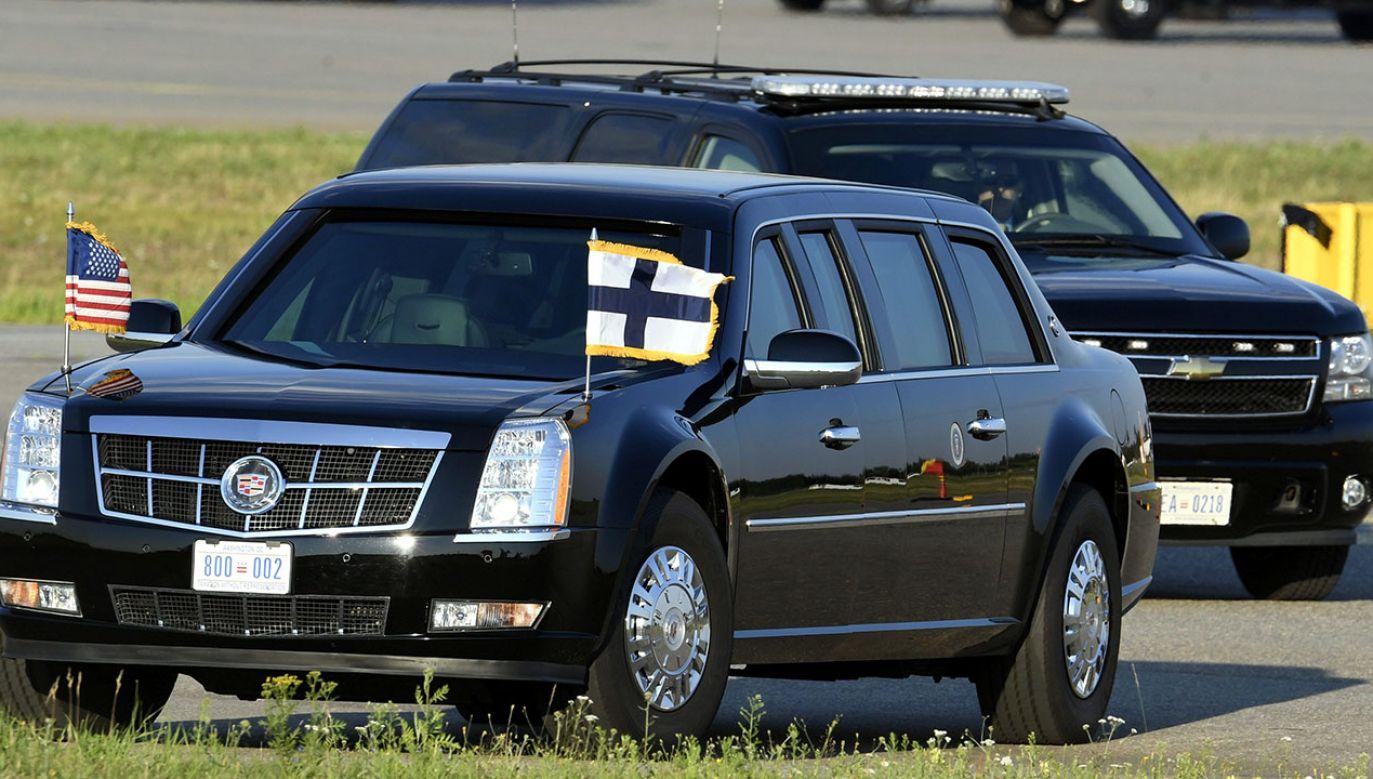 Wyposażenie zbudowanego na zamówienie Cadillaca owiane jest ścisłą tajemnicą (fot. Lehtikuva/Heikki Saukkomaa via REUTERS)
