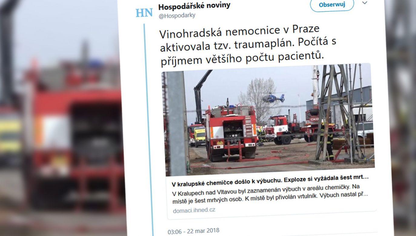 Znaleziono sześć martwych osób, są także ciężko ranni (fot. tt/@Hospodarky)