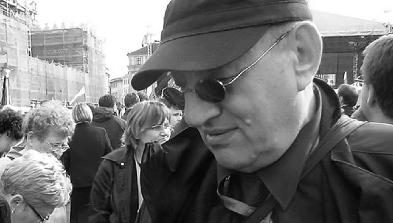 8 rocznica śmierci Marka Rosiaka, zamordowanego z nienawiści politycznej przez Ryszarda Cybę  (fot. twitter)