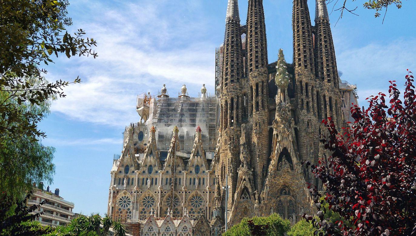 Sagrada Familia wznoszona jest od 1882 r.  (fot. pixabay Patrice_Audet)