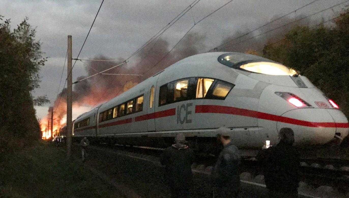 Na razie nie są znane przyczyny pożaru (fot. PAP/EPA/TIM HUEBNER)