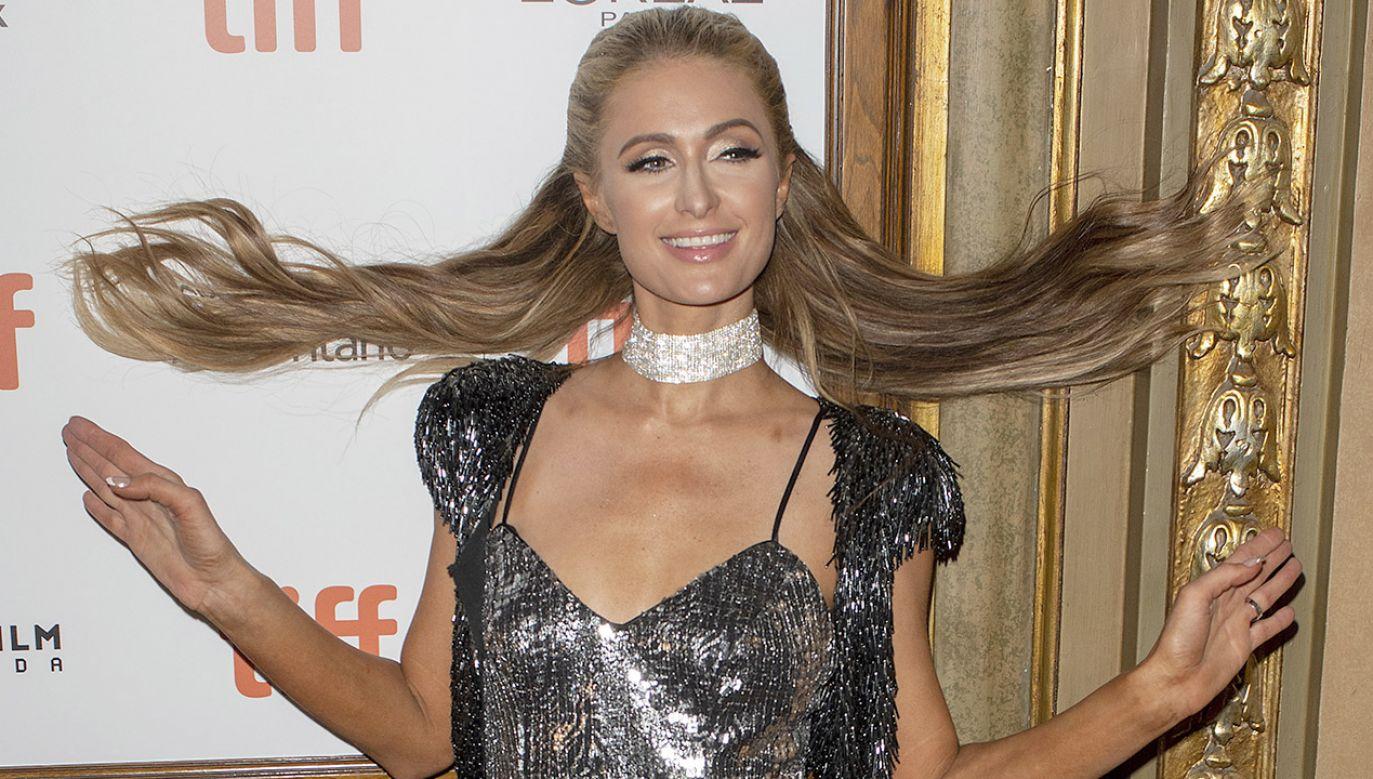 Paris Hilton szuka nowych źródeł dochodu (fot. PAP/EPA/WARREN TODA)