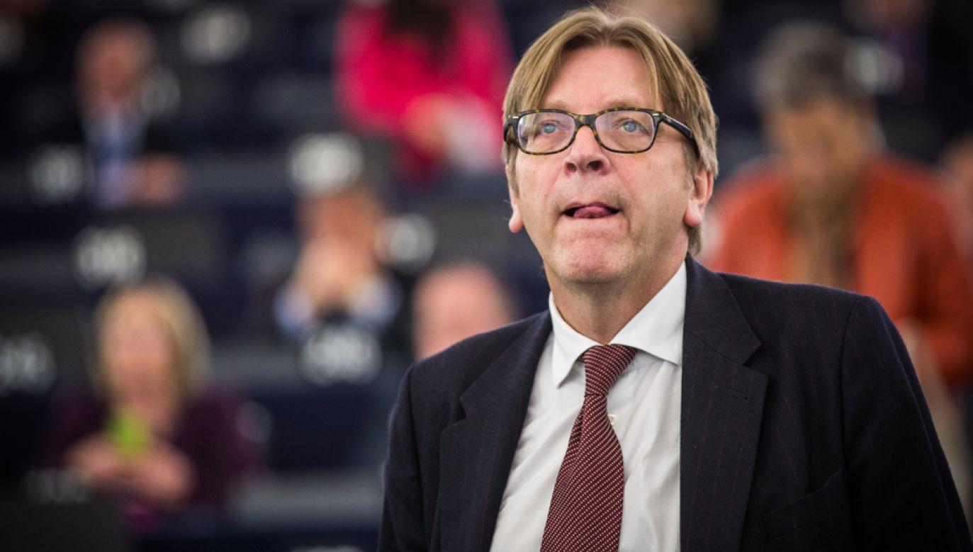 Guy Verhofstadt  (fot. Wikimedia Commons/Claude Truong-Ngoc)