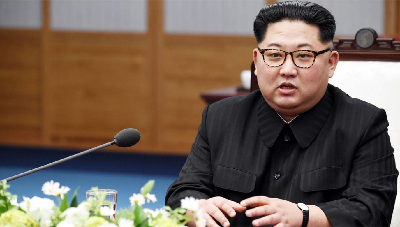 Kim Dzong Un deklaruje przerwanie badań nad bronią jądrową (fot. PAP/EPA/KOREA SUMMIT PRESS / POOL)
