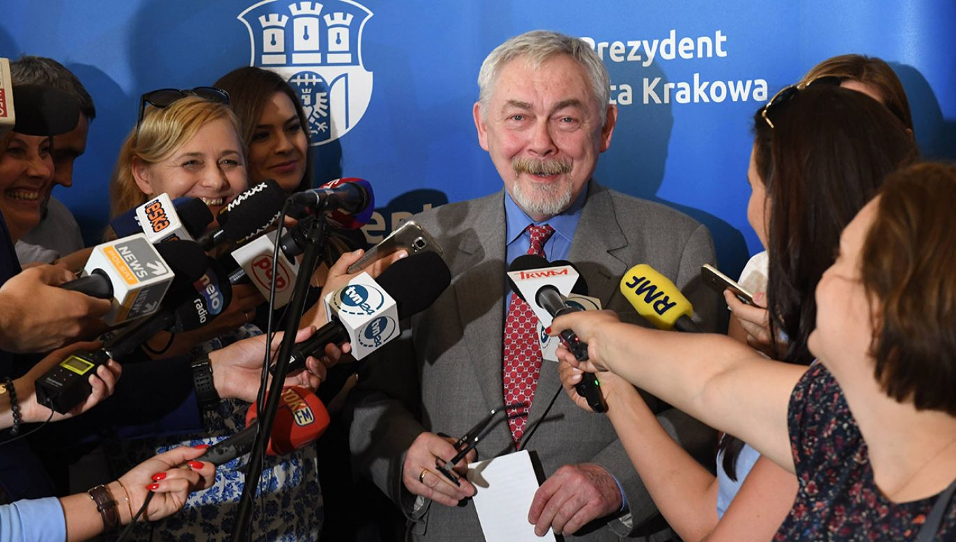 Jacek Majchrowski (fot. arch.PAP/Jacek Bednarczyk)