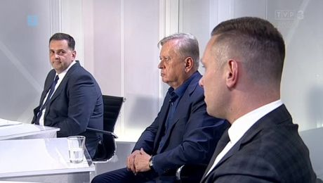 26.05.2018, Sebastian Pieńkowski PiS, Jerzy Synowiec Kocham Gorzów, Patryk Broszko Gorzów Plus