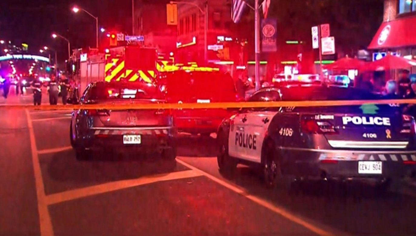 Wśród rannych jest dziecko (fot. Twitter/BreakingLV)