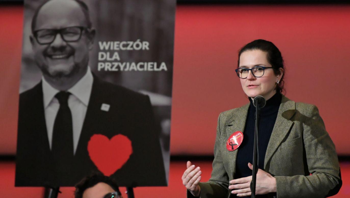 Pełniąca obowiązki prezydenta Gdańska Aleksandra Dulkiewicz (fot. PAP/Adam Warżawa)