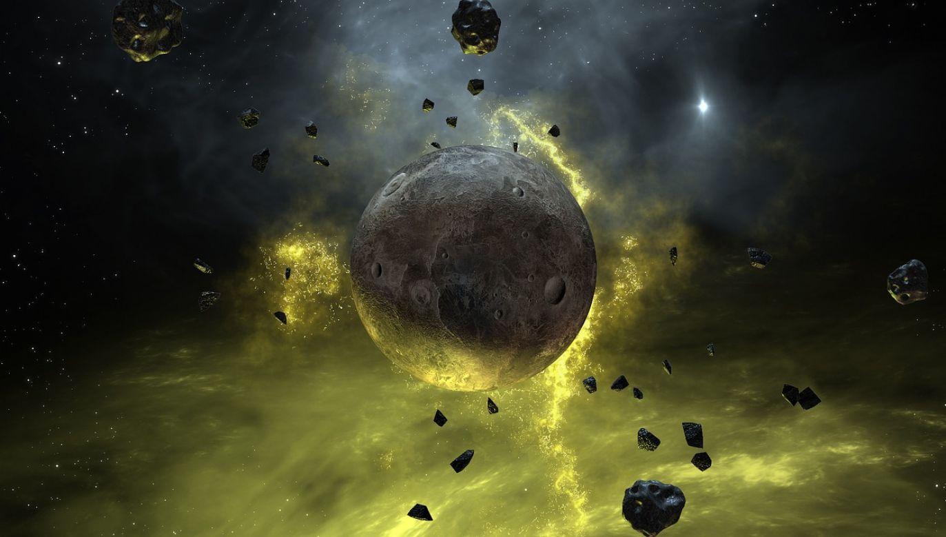 Planeta krążąca wokół Gwiazdy Barnarda - jako tzw. superziemia - może posiadać duże żelazne jądro, podtrzymujące przez długi okres aktywność geotermalną (fot. pixabay.com)