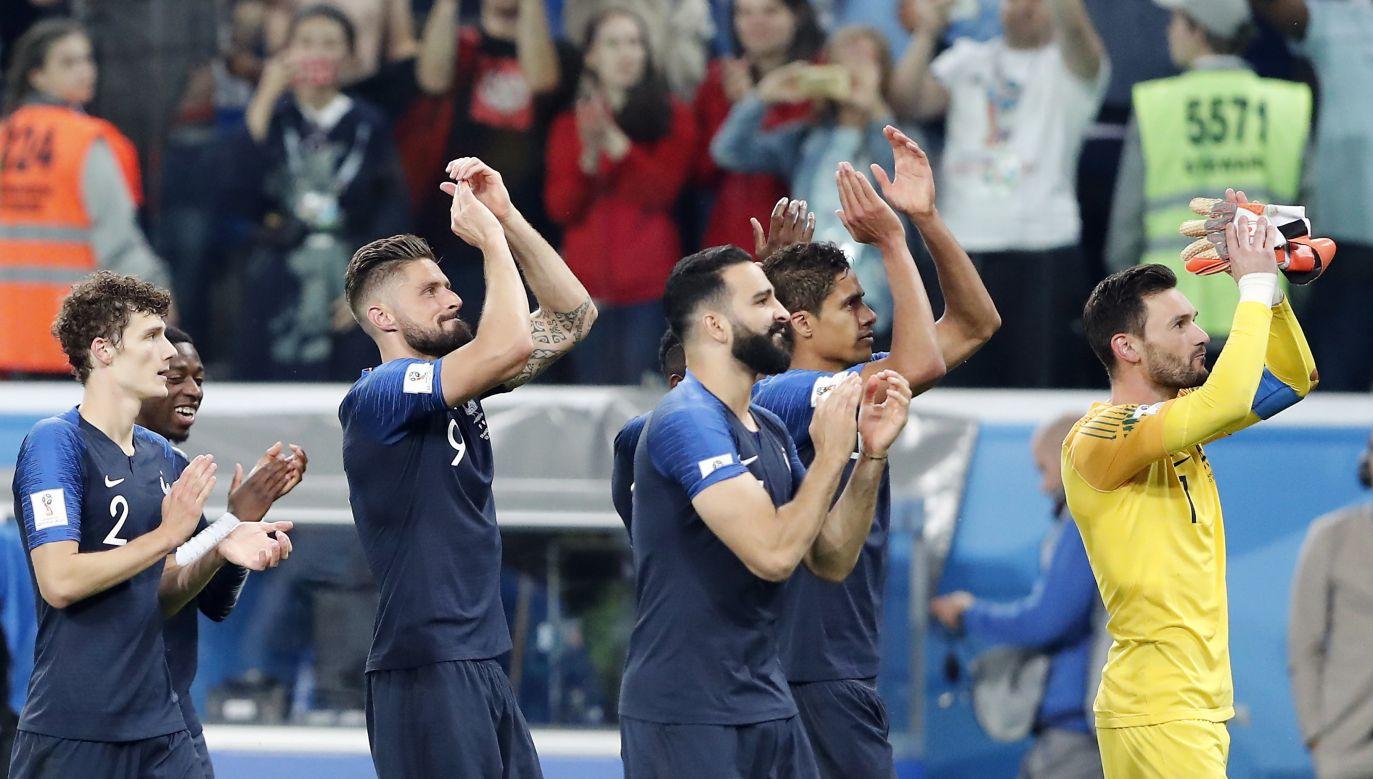Reprezentacja Francji w drodze do finału mistrzostw świata. (fot. PAP/EPA)