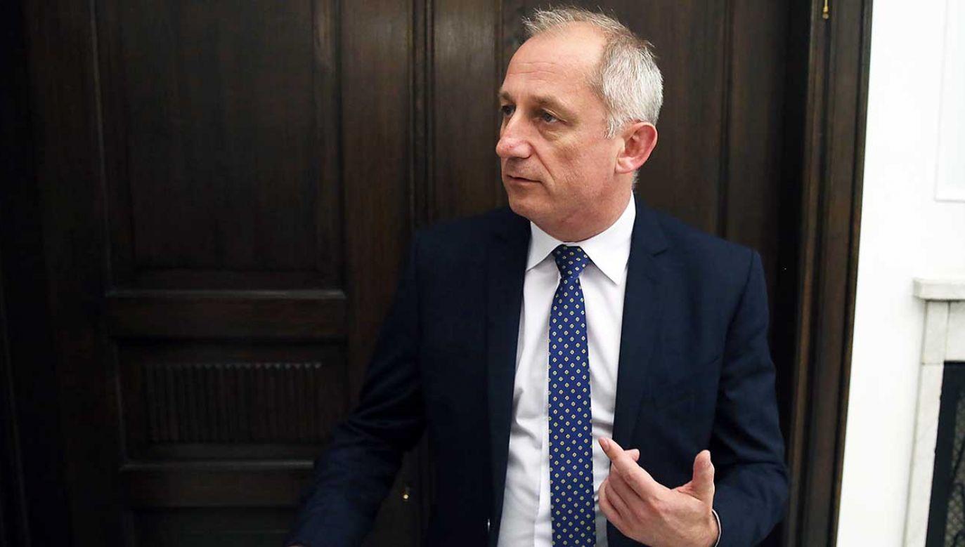 Przewodniczący klubu PO-KO Sławomir Neumann (fot. arch. PAP/Tomasz Gzell)