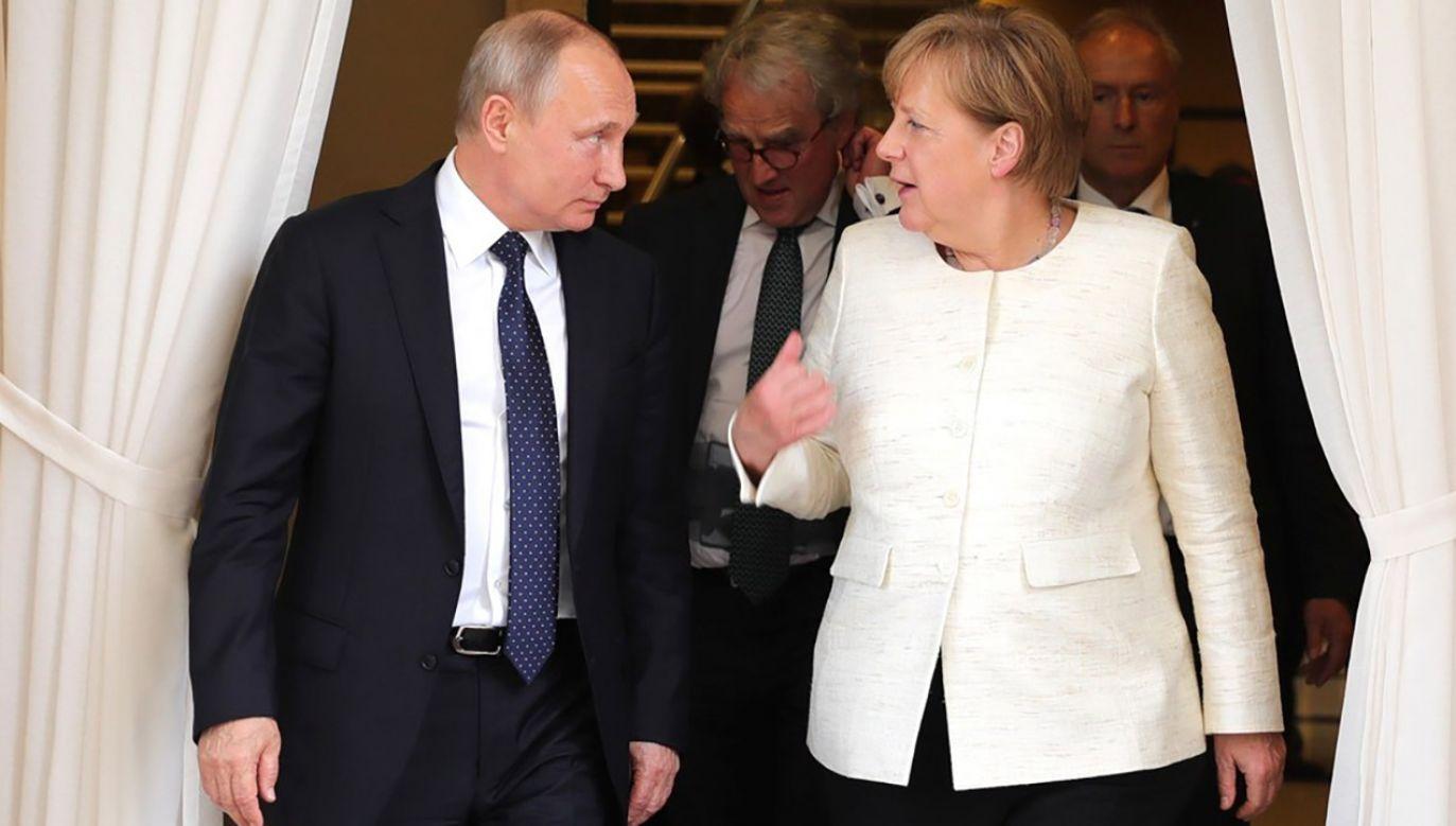 Rozmowy będą dotyczyły również wojen w Syrii i Donbasie (fot. Kremlin Press Office / Handout/Anadolu Agency/Getty Images)