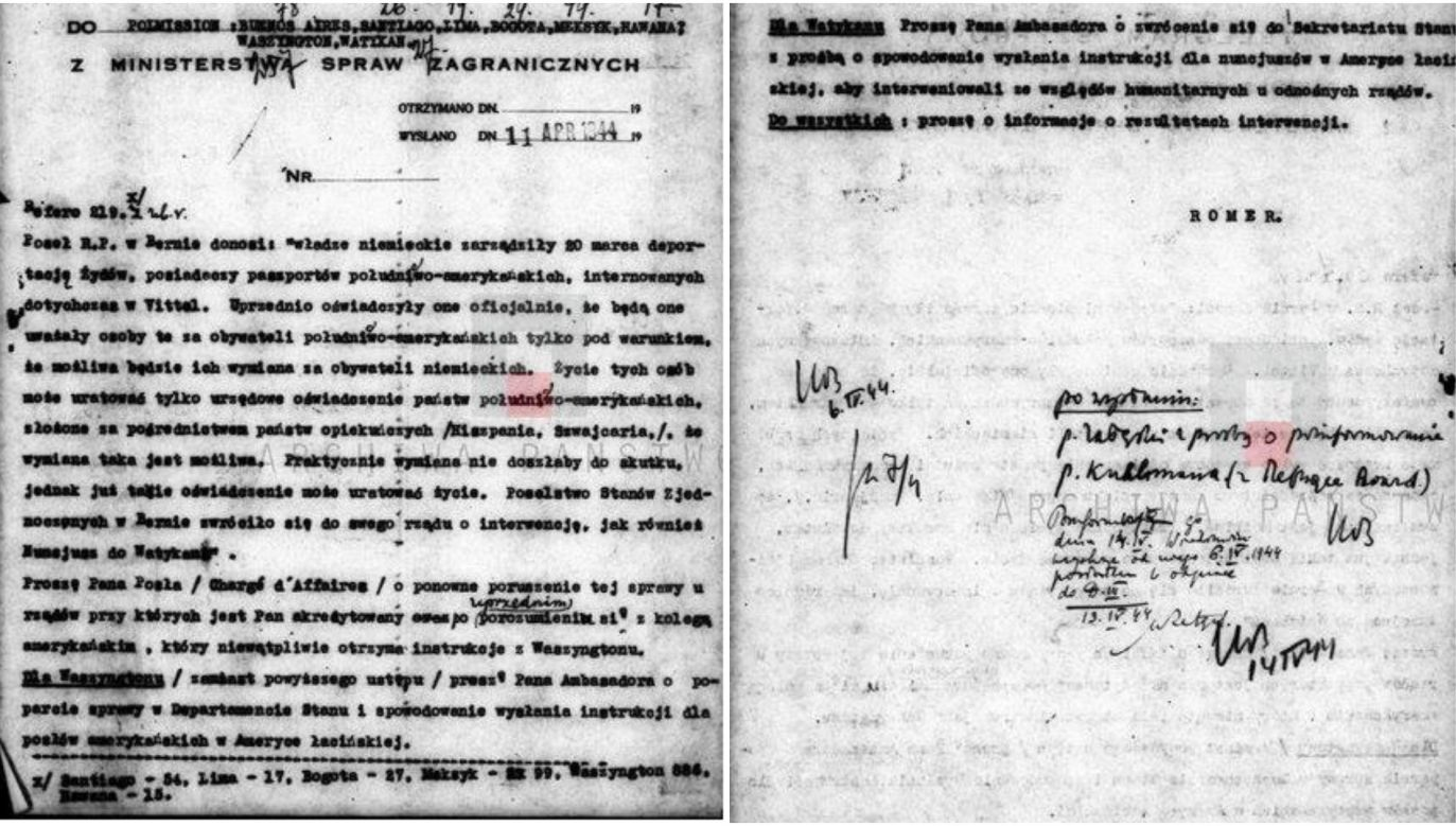 The scan of an instruction for Polish emissaries. Photo: FB/Jakub Kumoch/The Archives of Modern Records