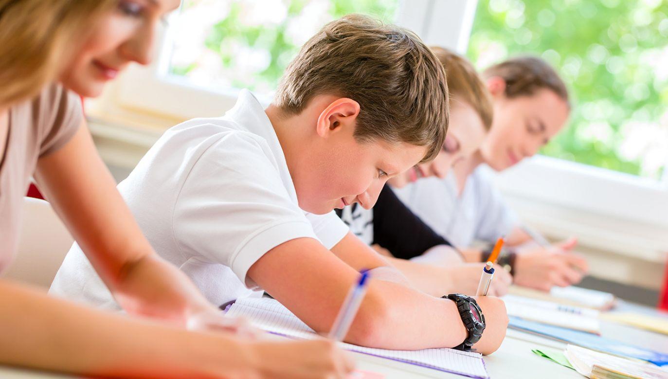 Uczniom, według nich samych, powiedziano, że wypełnienie ankiet to ważne zadanie (fot. Shutterstock/Kzenon)