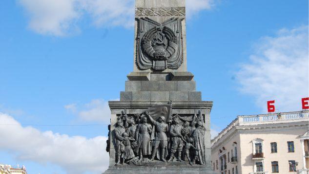 Białoruscy parlamentarzyści wydali oświadczenie dotyczące pomników poświęconych żołnierzom sowieckim (fot. flickr/Rob)