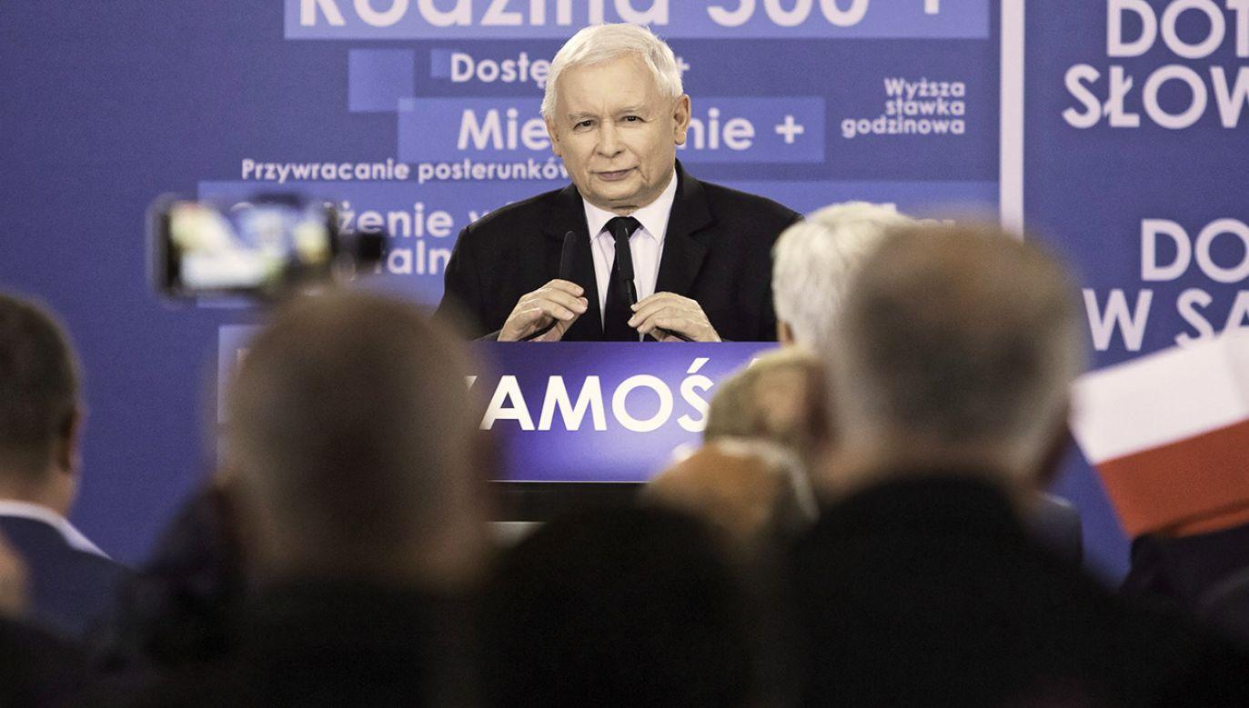 Prezes PiS Jarosław Kaczyński ocenił, że w samorządach potrzebna jest odnowa (fot. PAP/Wojtek Jargiło)