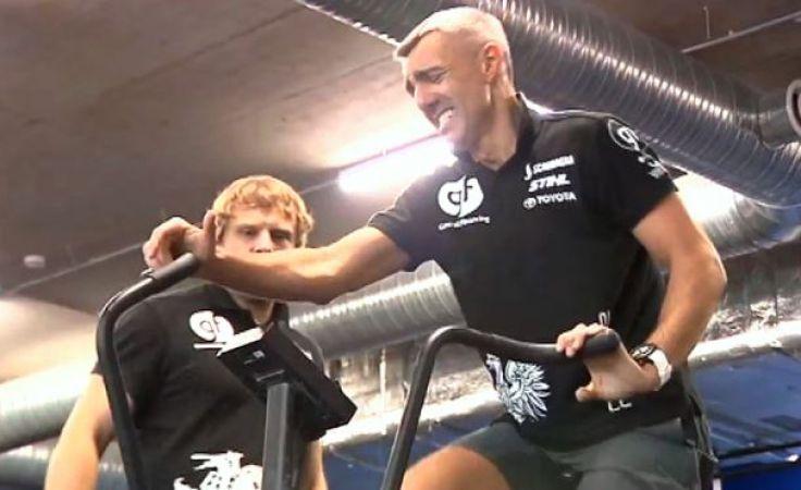 Rower w saunie. Tak Polak i Litwin przygotowują się do Dakaru