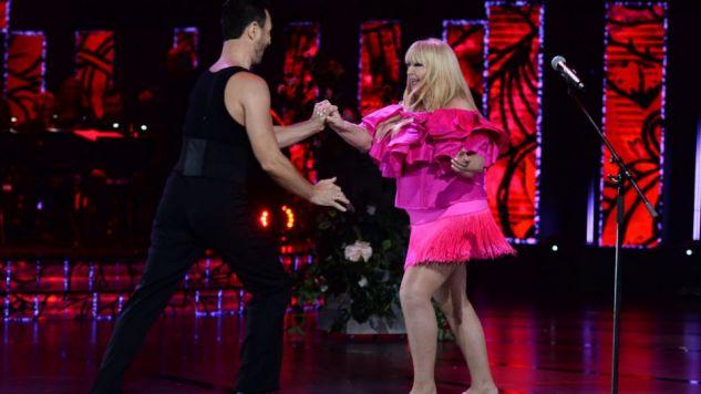 Maryla Rodowicz i Jan Kliment w gorącym tańcu w Opolu (fot. TVP)