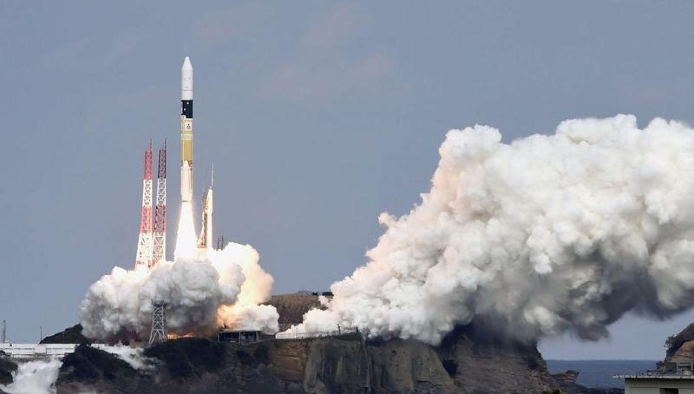 Sonda Hayabusa 2 wystartowała 3 grudnia 2014 r. (fot. REUTERS/Kyodo)
