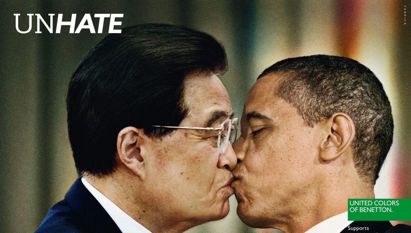 Kampania wywołała oburzenie (fot. PAP/EPA/BENETTON)