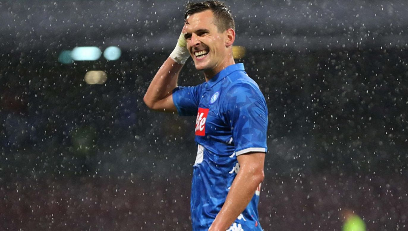 Arkadiusz Milik (fot. Getty Images)